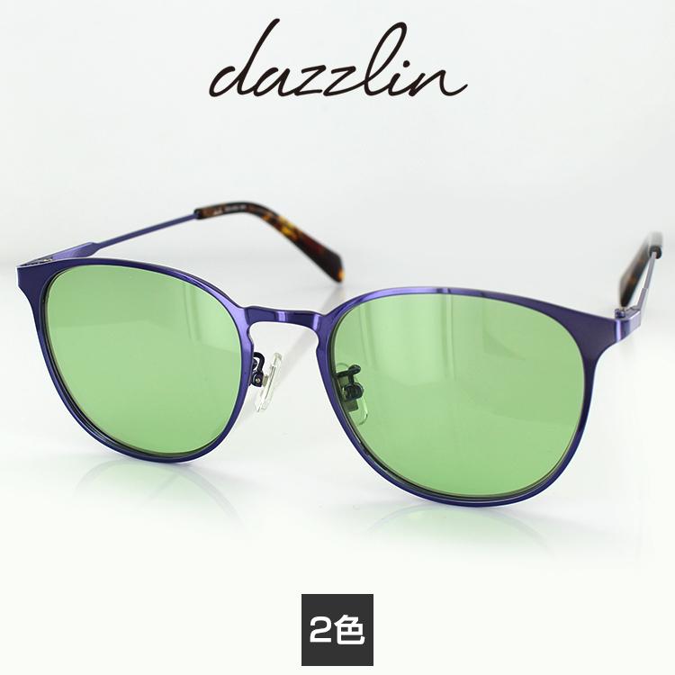 サングラス ダズリン DZS-3532 50サイズ ウェリントン レディース 女性用 dazzlin UVカットファッション 紫外線カット 国内正規品 送料無料