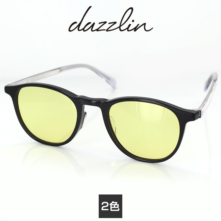 サングラス ダズリン DZS-3534 49サイズ ウェリントン レディース 女性用 dazzlin UVカットファッション 紫外線カット 国内正規品 送料無料
