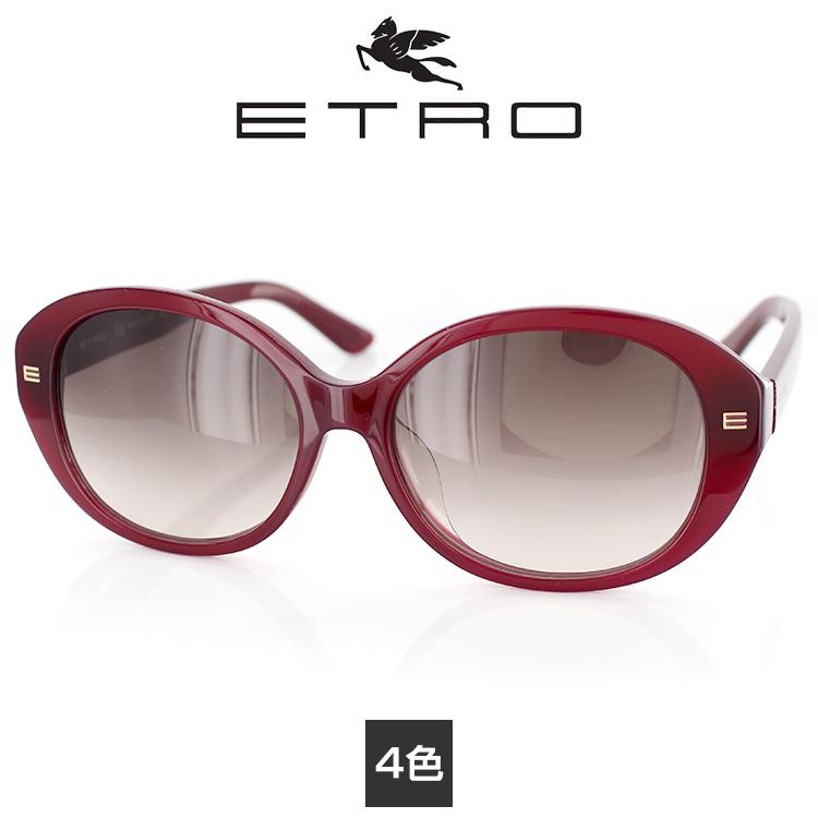 サングラス エトロ ET628SA 56サイズ オーバル ユニセックス 男女兼用 ETRO UVカット 紫外線カット 日よけ アイウェア カジュアル おしゃれ 上品 夏 リゾート プレゼント かわいい 送料無料 国内正規品 イタリアン製 あす楽 FCS
