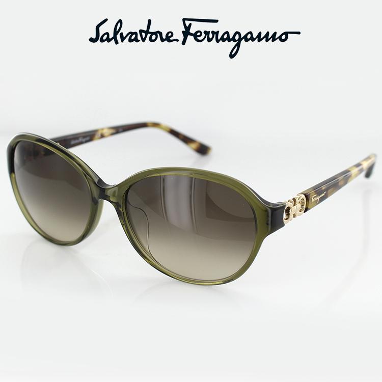フェラガモ サングラス SF804SA FERRAGAMO UVカット 56サイズ レディース 日本人向け【正規販売店】【あす楽対応】【FCS】