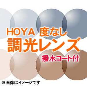 [レンズ]調光レンズ 伊達めがね用紫外線の量によって色が変わるブラウンとグレーの2色から選べます!度無し 度なし 度ナシ (フルリム用)(新品 正規品)