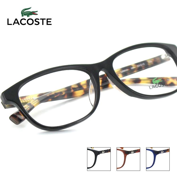 【送料無料】【国内正規品】ラコステ メガネフレーム L2801A 53サイズ オーバル ユニセックス 男女兼用 Lacoste ワニ 眼鏡フレーム めがねフレーム 度付き対応