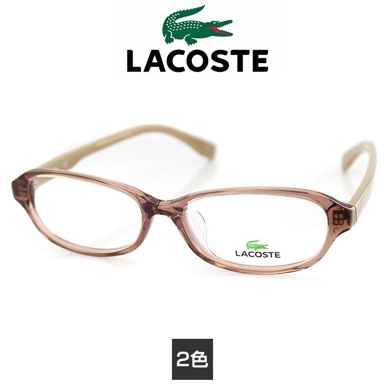 【送料無料】メガネ ラコステ 眼鏡 フレーム L2782A 53サイズ スクエア ユニセックス 男女兼用 LACOSTE ワニマーク PC用メガネ伊達メガネ ブルーライトカット 度付き対応可 国内正規品