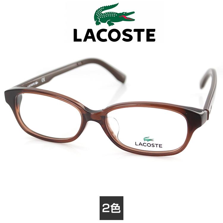 【送料無料】メガネ ラコステ 眼鏡 フレーム L2803A 52サイズ スクエア ユニセックス 男女兼用 LACOSTE ワニマーク PC用メガネ伊達メガネ ブルーライトカット 度付き対応可 国内正規品