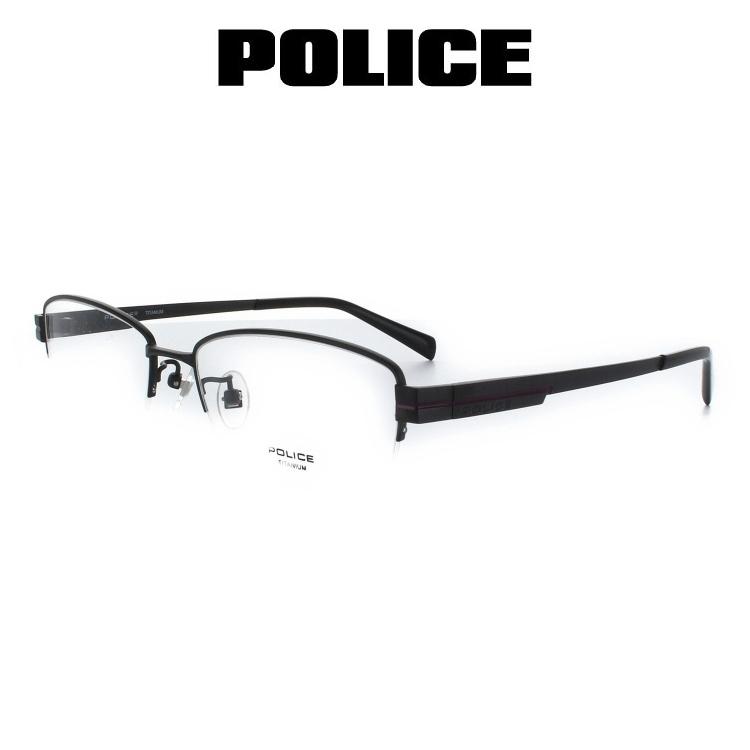 ポリス POLICE メガネフレーム VPL310J 0BK3 54サイズ 眼鏡 めがね 度付き可 メンズ
