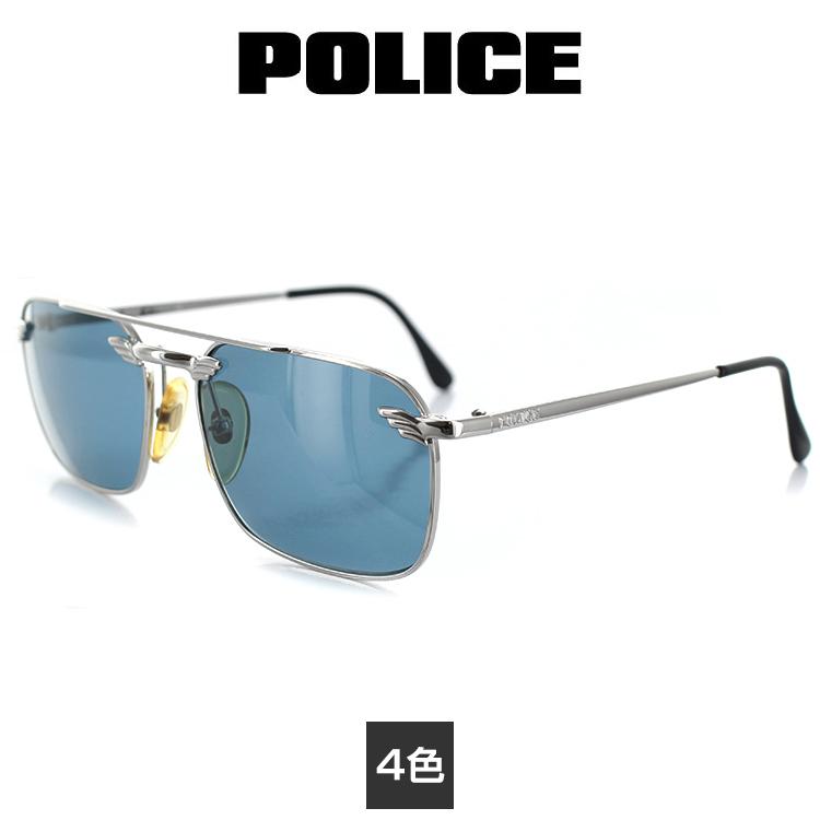 【送料無料】ポリス サングラス SG-2147 53サイズ スクエア メンズ 男性用 POLICE 紫外線防止 UVカット 紫外線予防 【国内正規品】