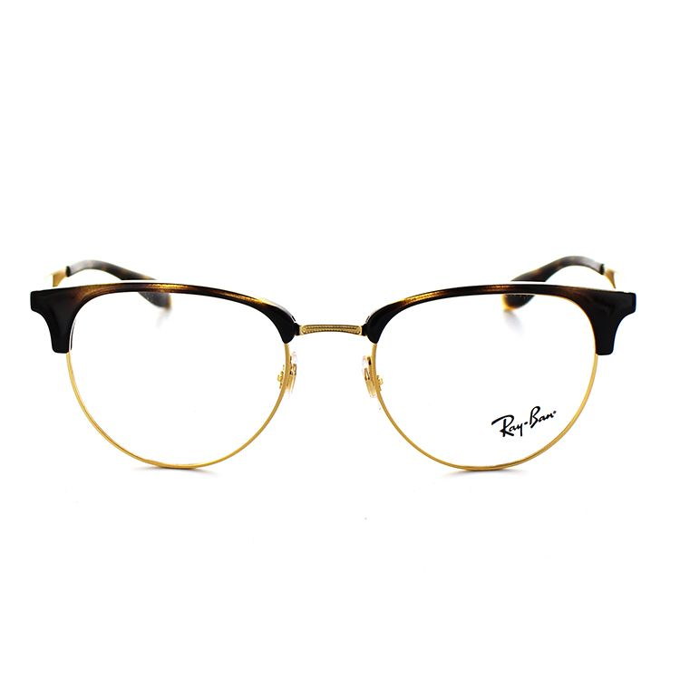 ray ban glasses frame rx6396 2933 51 size blow havana gold unisex man and woman