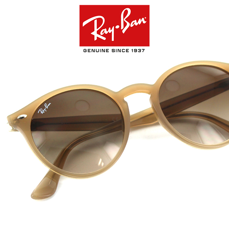 46ce91eedebd5 Ray Ban sunglasses RB2180F616613 49 size round casual classic Boston round  brand new real UV cut men and women and for retro UV protection full fit  for ...