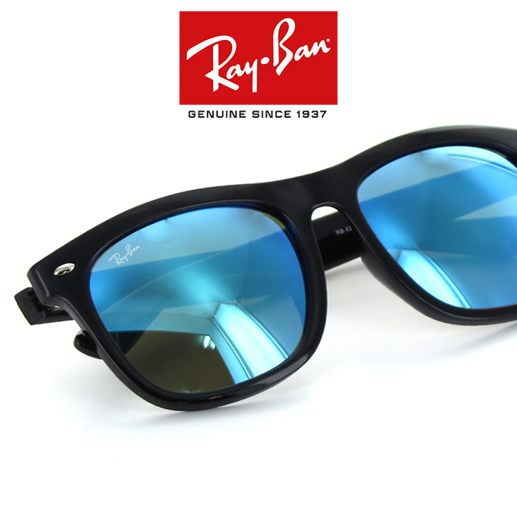 845f562c970 Ray Ban sunglasses RB4260D601 55 57 size black Flash lens mirror lens  Wellington new real UV UV cut people feel private cases with Rybn ry-BN  domestic ...