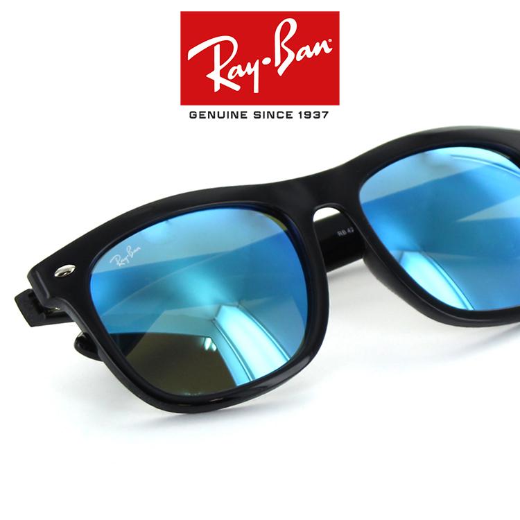 【送料無料】レイバン サングラス RB4260D 601/55 57サイズ ブラック フラッシュレンズ ミラーレンズ ウェリントン 新品 本物 紫外線 UVカット 人気 RayBan Ray-Ban 国内正規品 メーカー保証書付き