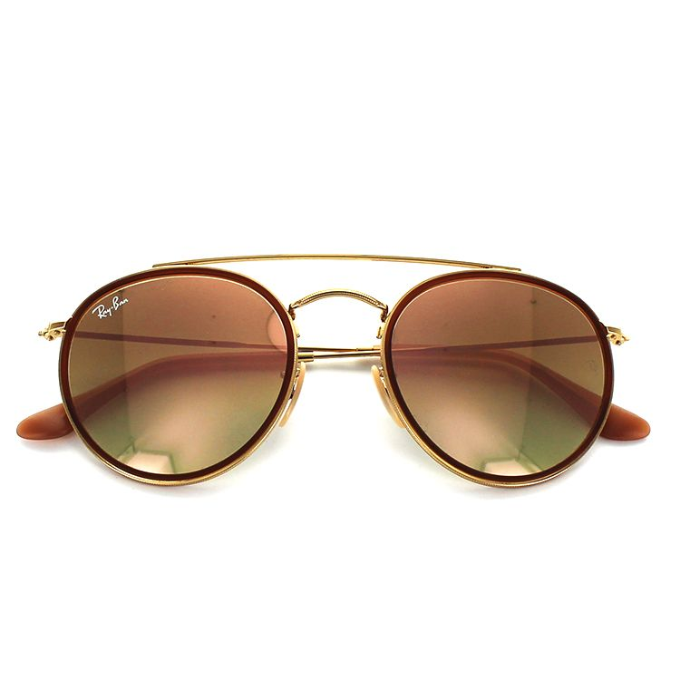 Ray-Ban RayBan for the Ray-Ban sunglasses RB3647N 001/70 51 size Oval gold brown men man