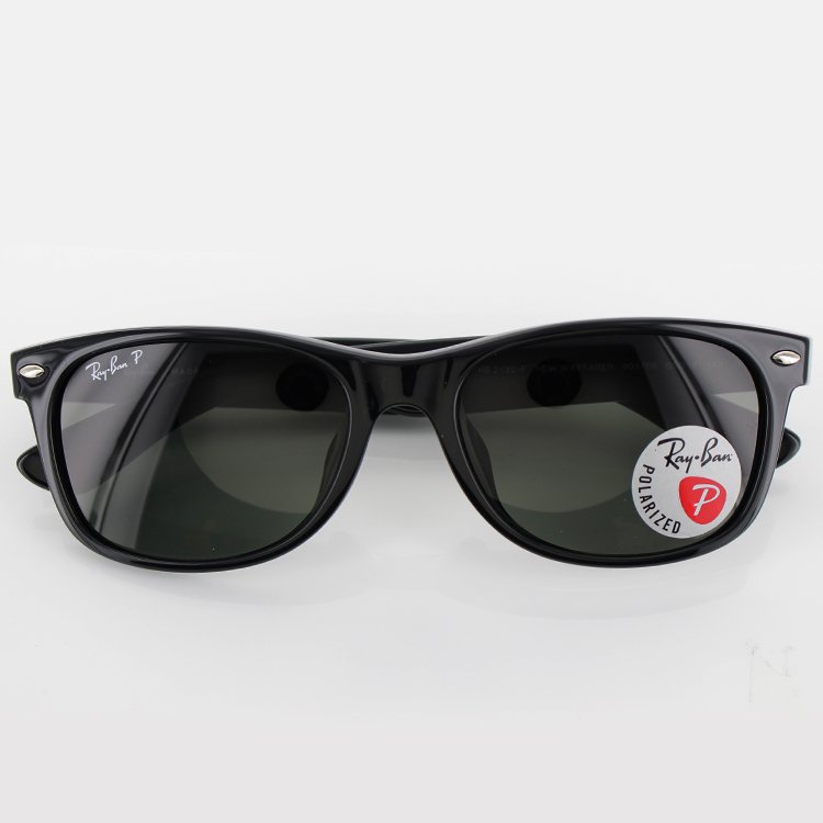 29a3e238a99ba ○A product model number  RB2132 F ○A front color  Black ○A temple color   Black ○A lens color  Dark green (11% of visible ray transmissivity)
