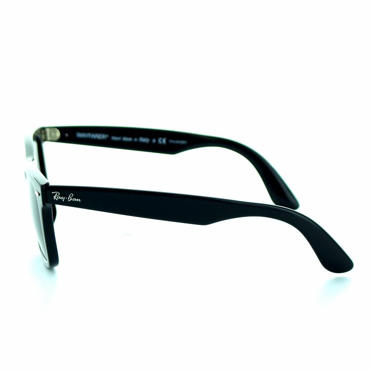 雷朋雷朋 2140F-901-58-52 太阳镜偏光新旅人改进版 logo 经典黑色流行合适 UV 新例切真正完全拟合模型新亚洲垫