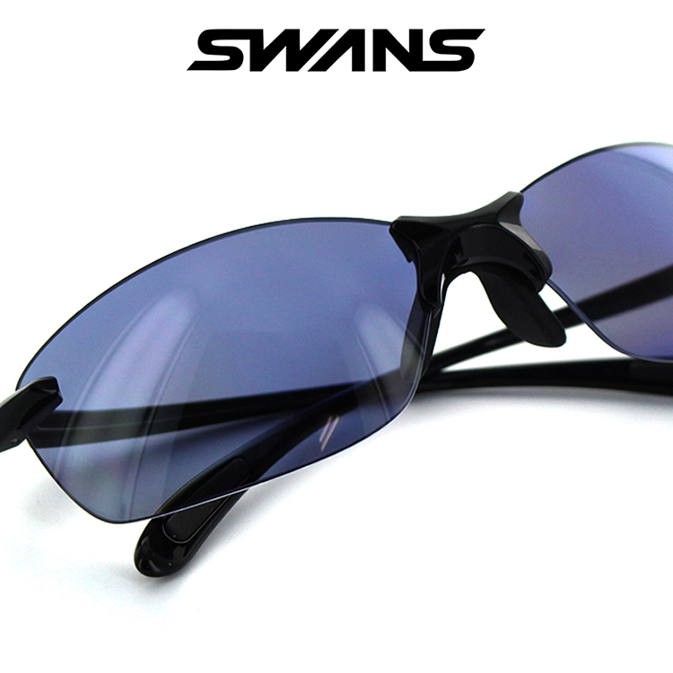 【国内正規品】【日本製】スワンズ サングラス SALF-0067 BK 62サイズ スクエア ブラック ユニセックス 男女兼用 SWANS スポーツサングラス 偏光レンズ 登山 釣り UVカット 紫外線カット UV予防 紫外線予防
