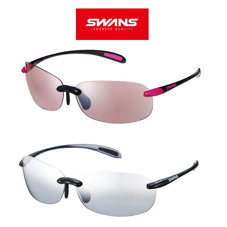 SWANS スワンズ サングラス SABE-0709 BK/P/ -1302 BSMK Airless Beans エアレス ビーンズ【ミラーレンズ 軽量モデル ウォーキング ドライブ 登山 紫外線対策 アイウェア スポーツ アウトドア】