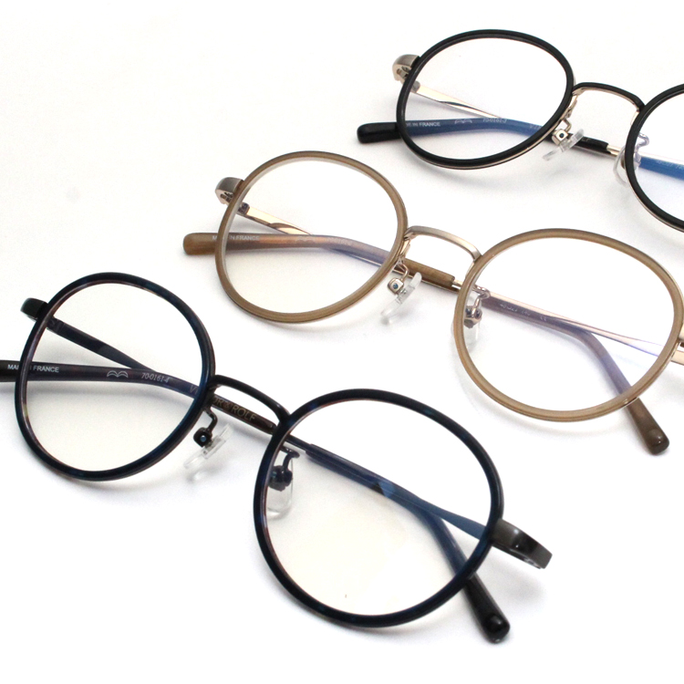 维克托&罗尔夫眼镜眼镜架子70-0161 48尺寸Oval浅驼色黄金男女两用男女兼用VIKTOR&ROLF眼镜架子眼镜架子