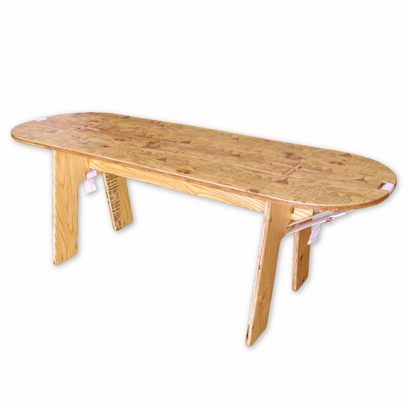 YOKA PANEL LONG TABLE HELLO KITTY 【受注後生産アイテム】【送料無料!!】【メール便対象外】