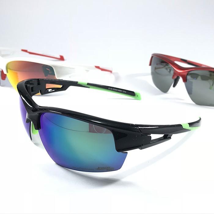 ゴルフに特化した高機能レンズを採用 送料無料 卓抜 偏光 ◆セール特価品◆ EVG506G 弾性TR90フレキシブルノースパッド偏光サングラス EVOLVE超軽量