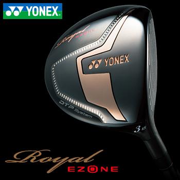 2017モデルYONEX(ヨネックス)日本正規品Royal EZONE(ロイヤルイーゾーン)ハイブリッド フェアウェイXELA for Royalカーボンシャフト
