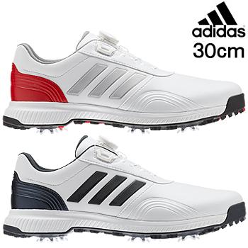 【【最大3300円OFFクーポン】】adidas Golf(アディダスゴルフ) 日本正規品 CP TRAXION BOA(CPトラクションボア) ソフトスパイクゴルフシューズ 2019モデル 「BTE47」 サイズ:30.0cm 【あす楽対応】