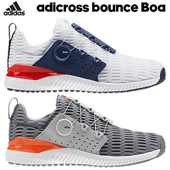 【【最大3000円OFFクーポン】】adidas Golf(アディダスゴルフ) 日本正規品 ADICROSS BOUNCE BOA (アディクロスバウンスボア) climacoolメッシュタイプ スパイクレスゴルフシューズ 2019新製品 「BTE54」 【あす楽対応】