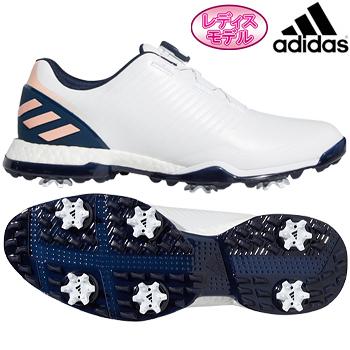 【新色追加】 adidas Golf(アディダスゴルフ) 日本正規品 W ADIPOWER 4ORGED BOA (ウィメンズアディパワーフォージドボア) ソフトスパイクゴルフシューズ 2019モデル 「BTF17」 レディスモデル【あす楽対応】