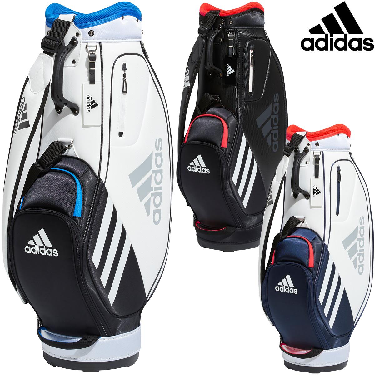 adidas Golf(アディダスゴルフ)日本正規品 PERFORMANCE CADDY BAG (パフォーマンスキャディバッグ) 2020新製品 軽量ゴルフキャディバッグ 「GUV75」 【あす楽対応】