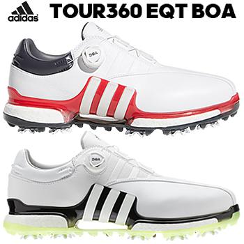 【【最大3000円OFFクーポン】】【新色追加】 adidas Golf(アディダスゴルフ) 日本正規品 TOUR360 EQT Boa ソフトスパイクゴルフシューズ 2019新製品 「WI975」 【あす楽対応】