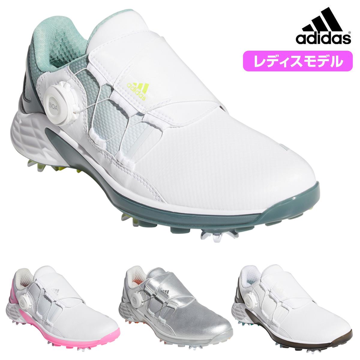 妥協ZERO全てを叶えたこの軽さ adidas Golf アディダスゴルフ 交換無料 日本正規品 ウィメンズ 2021新製品 あす楽対応 ZG21 超歓迎された ゼットジー21ボア ソフトスパイクゴルフシューズ KZI19