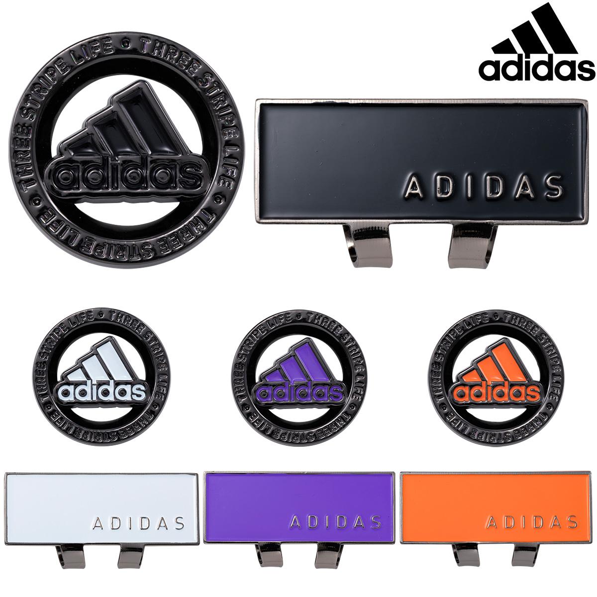【即納!】 adidas Golf(アディダスゴルフ)日本正規品 Core Basic Clip Marker (コア ベーシック クリップマーカー) 2021新製品 「ADM-912」 【あす楽対応】