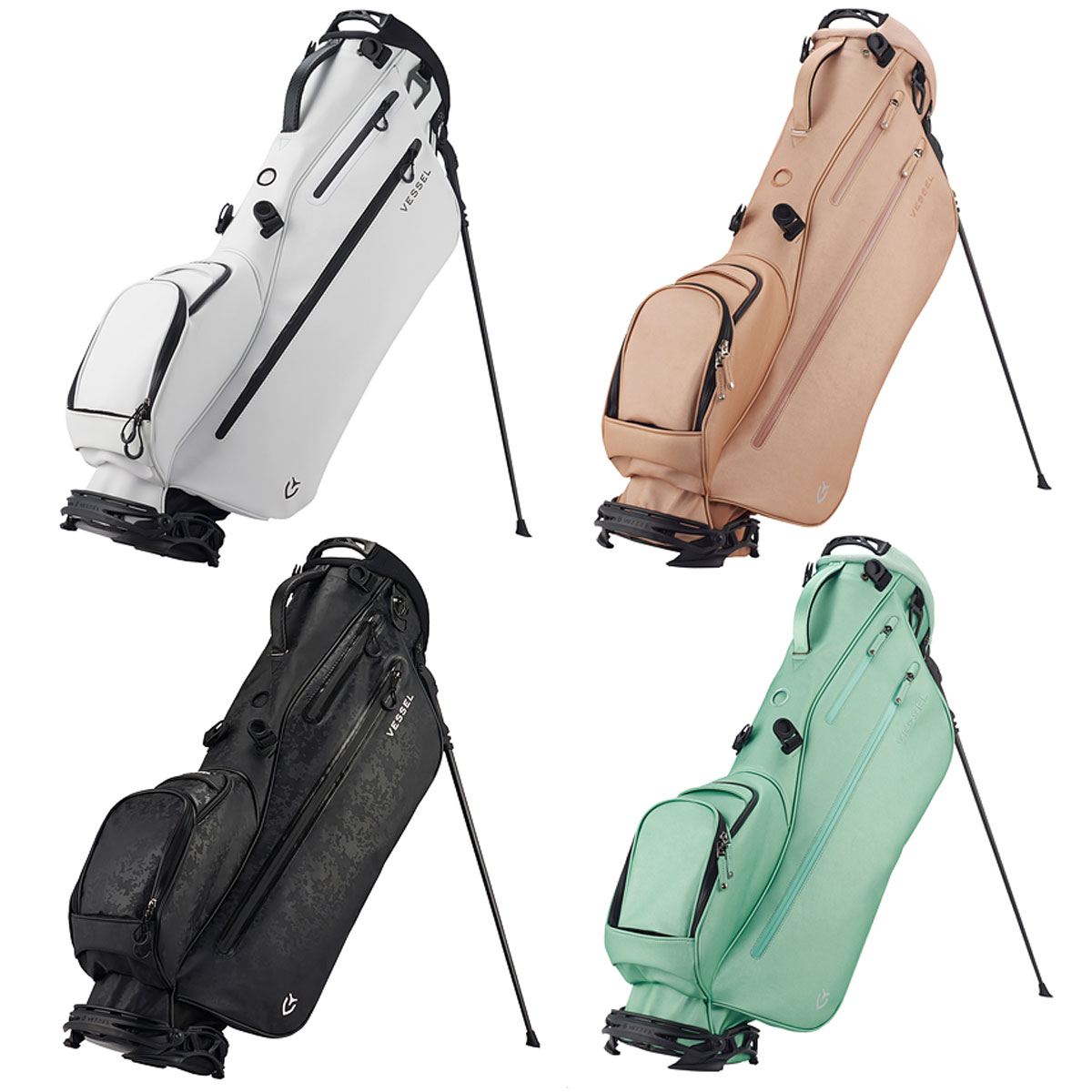 【【最大3300円OFFクーポン】】VESSEL(ベゼル) LITE Stand Bag (ライトスタンドバッグ) 2020新製品 「7530218」【あす楽対応】