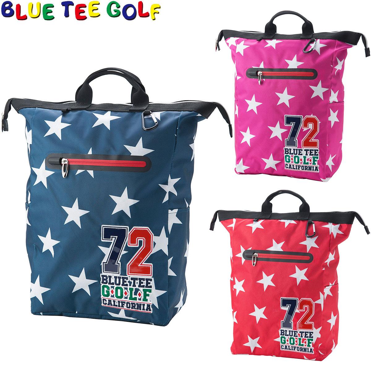 本気で遊ぶゴルフギア BLUE セール品 TEE GOLF ブルーティーゴルフ 日本正規品 激安☆超特価 TT-001 ナイロントートバッグ スター