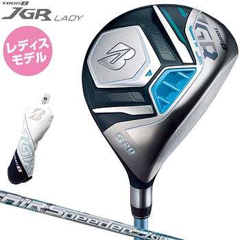 ブリヂストン日本正規品 TOUR B JGR LADYフェアウェイウッド(ブルー) 2019モデル AiR Speeder JGRカーボンシャフト 「GMJB1W」 【あす楽対応】