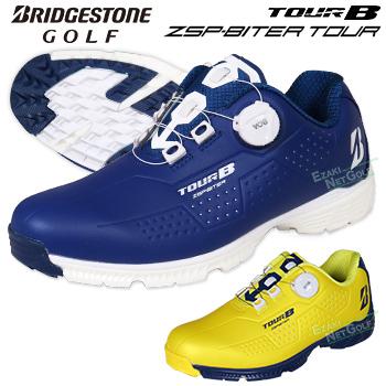 【限定品】 ブリヂストンゴルフ日本正規品 TOUR B ZSP-BITER TOUR ゼロスパイクバイター ツアー スパイクレスゴルフシューズ 2019モデル 「SHG90L」【あす楽対応】