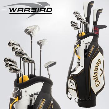 キャロウェイ日本正規品WARBIRD SETウォーバード メンズ10点ゴルフクラブフルセットキャディバッグ付き