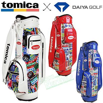 tomica×DAIYA GOLF トミカ×ダイヤゴルフ日本正規品 キャディバッグ4105 2019新製品 「CB-4105」【あす楽対応】