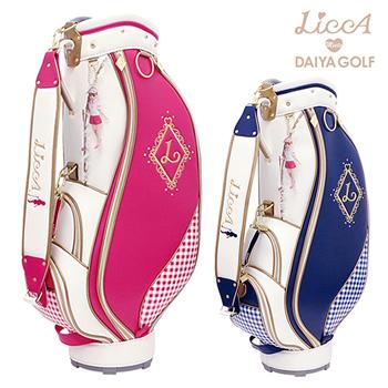 【限定品】 ダイヤゴルフ日本正規品 LiccAゴルフコレクション キャディバッグ 01 リカちゃん 2019新製品 「CBL5301」 【あす楽対応】