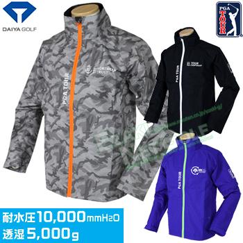 ダイヤゴルフ日本正規品 PGA TOUR レインウエア ジャケットタイプ2019新製品 「RW-3004」【あす楽対応】