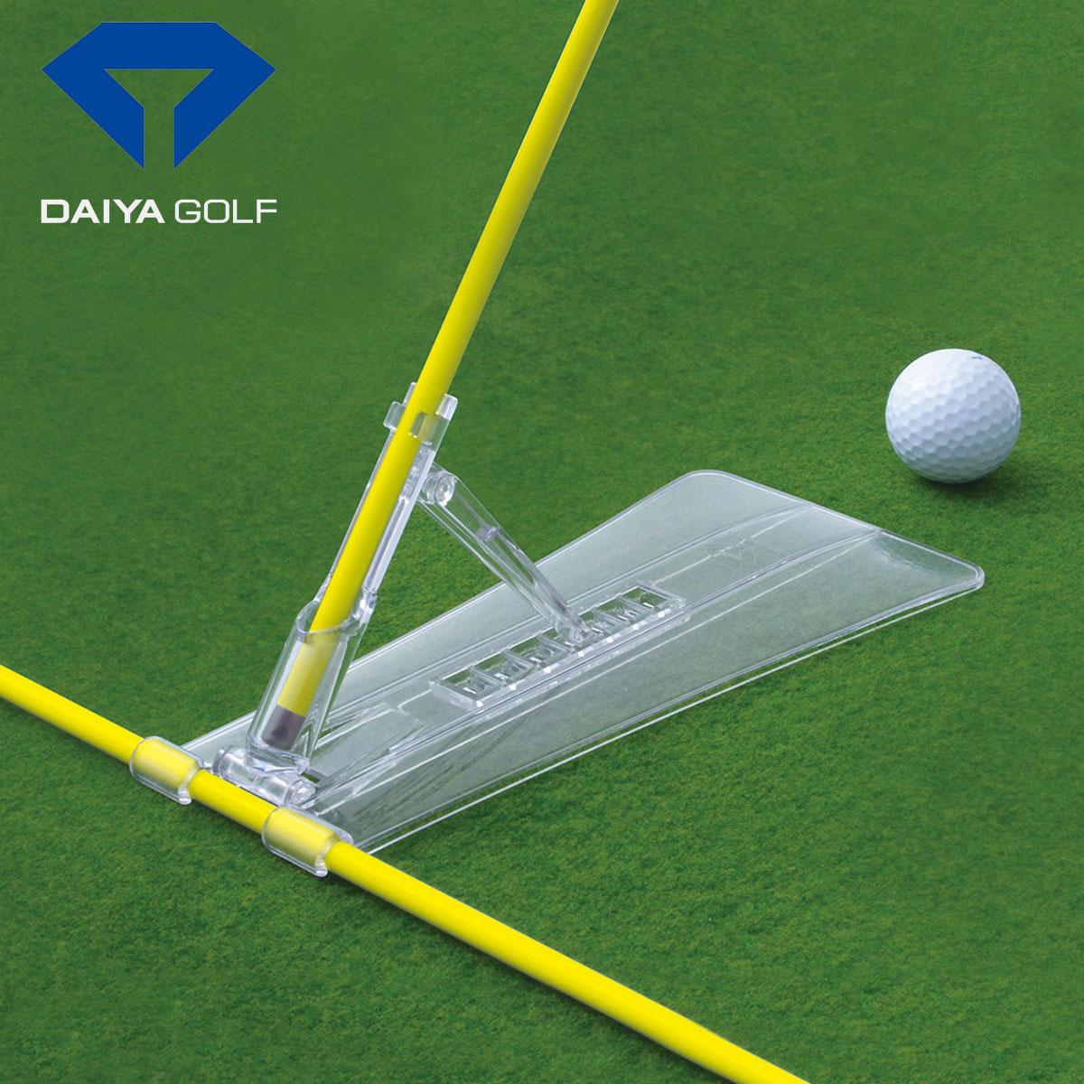 即納 DAIYA GOLF ダイヤゴルフ 安心の定価販売 日本正規品 ゴルフスイング練習用品 2020モデル ダイヤスイングアライメント あす楽対応 TR-472 日本メーカー新品