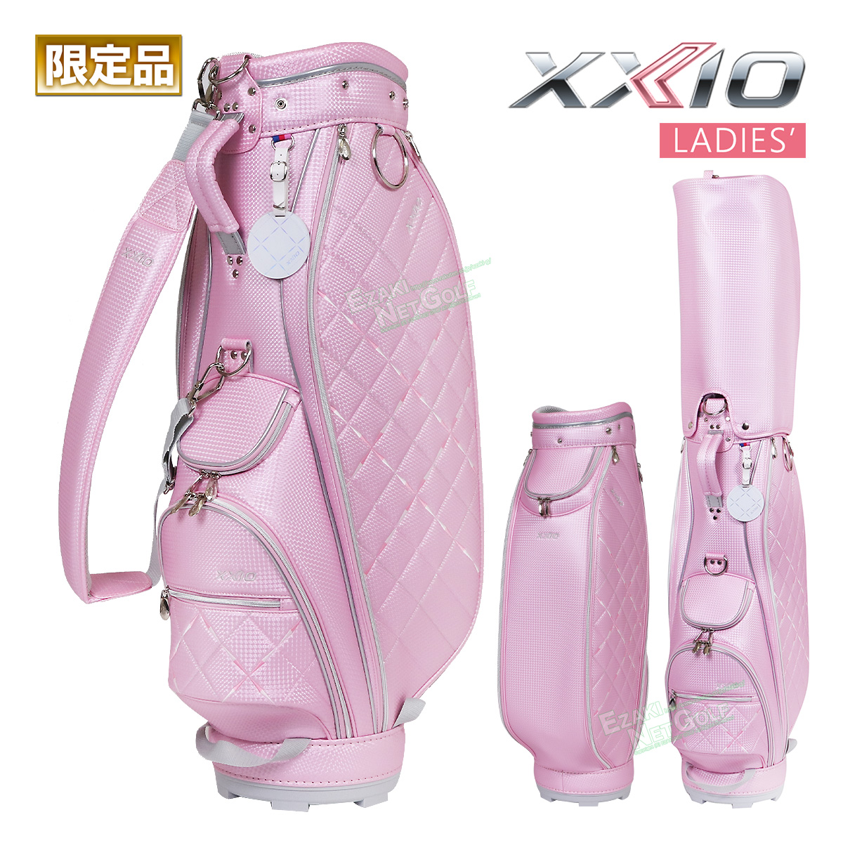 【限定品】ダンロップ日本正規品 XXIO(ゼクシオ) エレガント モデル キャディバッグ 2020新製品「GGC-X113W ピンク」 レディスモデル 【あす楽対応】
