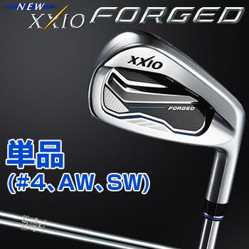 2017モデルダンロップ日本正規品NEW XXIO FORGED(ニューゼクシオフォージド)軟鉄鍛造アイアンNSPRO930GH DSTスチールシャフト単品(#4、AW、SW)