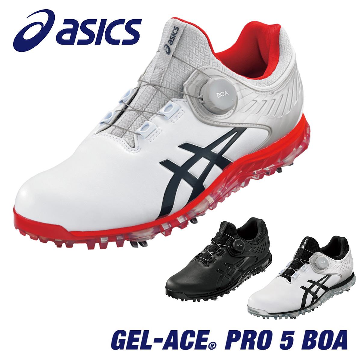 履き心地を追求したプロモデル ASICS アシックス 日本正規品 送料無料でお届けします GEL-ACE PRO 5 2021新製品 お気に入 ソフトスパイクゴルフシューズ あす楽対応 ゲルエース Boa 1111A180 プロ5ボア