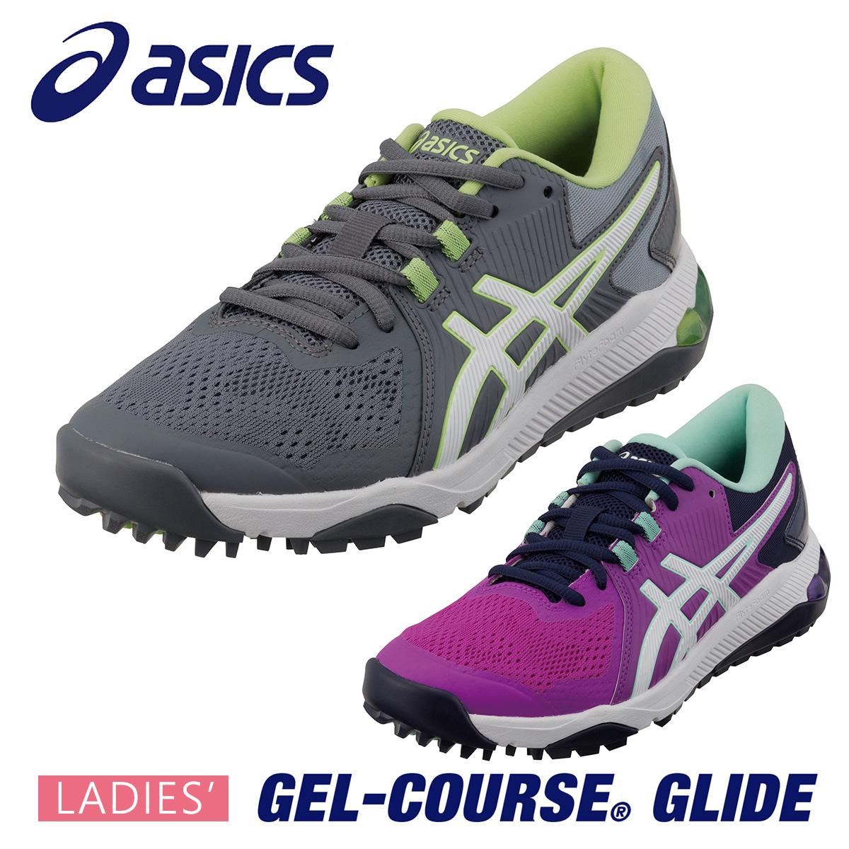 ASICS(アシックス)日本正規品 GEL-COURSE GLIDE (ゲルコース グライド) スパイクレス ゴルフシューズ 2020新製品 レディスモデル 「1112A017」【あす楽対応】
