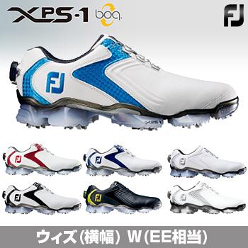 【3月30日 20時~4h限定10倍】FOOTJOYフットジョイ日本正規品XPS-1 Boa(エックスピーエスワンボア)ソフトスパイクゴルフシューズウィズ:W(EE)【あす楽対応】