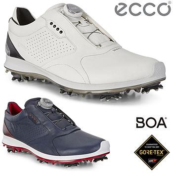 【3月30日 20時~4h限定10倍】ECCO(エコー)日本正規品 BIOM G2 Mens Golf BOA GTX メンズモデル ソフトスパイクゴルフシューズ 2018モデル 「130674」【あす楽対応】
