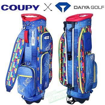 【3月30日 20時~4h限定10倍】ダイヤゴルフ日本正規品 COUPY(クーピー) キャディバッグ8002 「CB-8002」【あす楽対応】