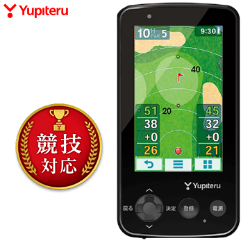 【3月30日 20時~4h限定10倍】Yupiteru(ユピテル) ゴルフナビ YGN6200 2018モデル 「GPS距離測定器」 【あす楽対応】