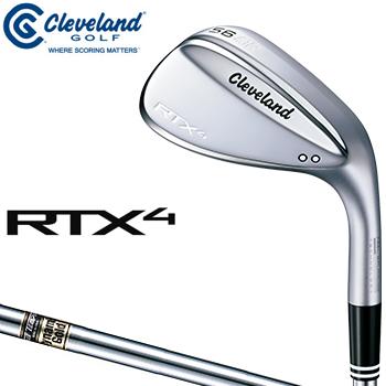【3月30日 20時~4h限定10倍】クリーブランドゴルフ日本正規品 RTX4 ウェッジ ツアーサテン仕上げ ダイナミックゴールドスチールシャフト 2018モデル 「RTX4BTSDG」 【あす楽対応】