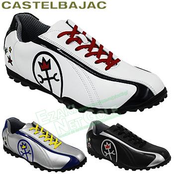 【3月30日 20時~4h限定10倍】CASTELBAJAC(カステルバジャック)日本正規品メンズゴルフシューズ「CBK005」【あす楽対応】