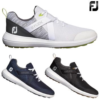 FOOTJOY(フットジョイ)日本正規品 FJ FLEX(フレックス) 2019新製品 スパイクレスゴルフシューズ 【あす楽対応】